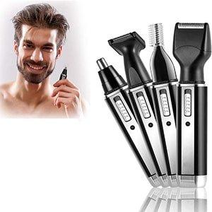 Recortador de nariz/orejas/cejas/barba recargable con USB °