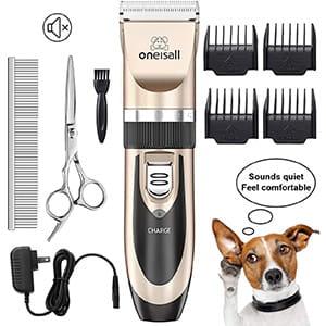 Cortapelos de pelo eléctrico inalámbrico para gato/perro Oneisall °