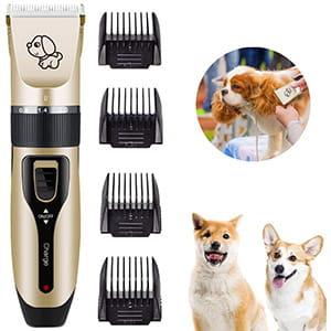 Kit Maquinilla de corta pelo para perros/gatos recargable con USB °