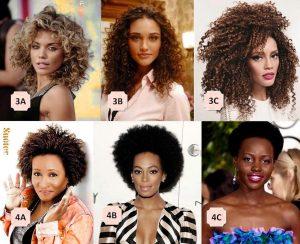 Tipos de cabello chino 2