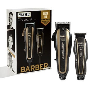 Kit Máquina para cortar cabello de barbero WAHL Pro 8180 °