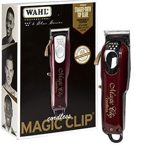Máquina inalámbrica para barberos/estilistas Wahl Pro Magic Clip 8148 °
