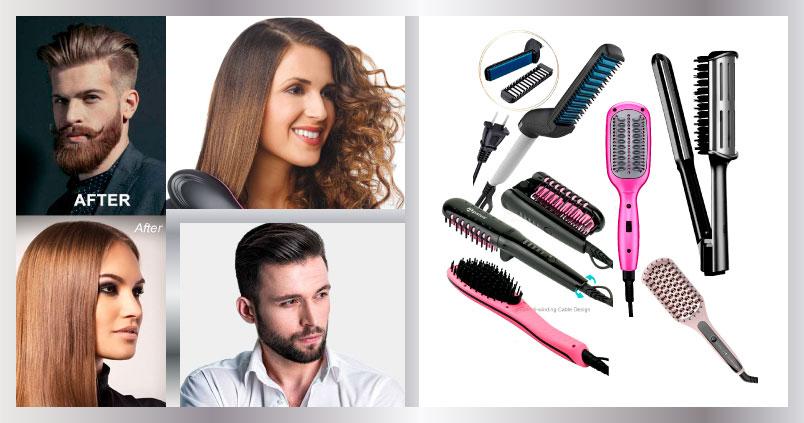 Cepillo para planchar cabello