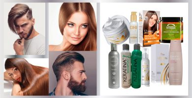 Keratina para cabello