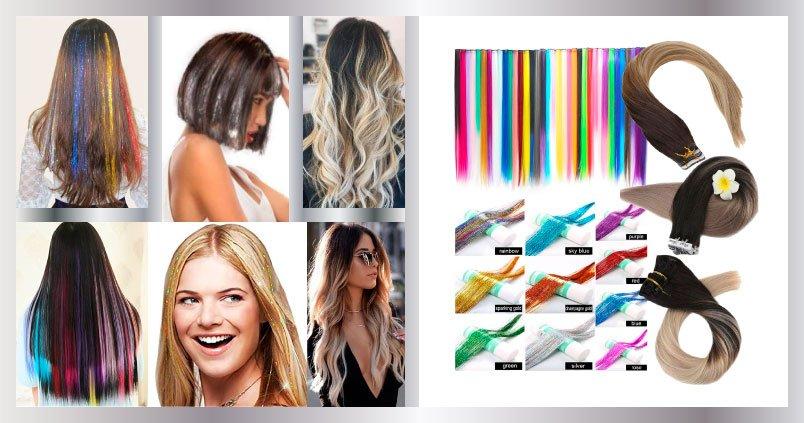 Luces para cabello