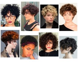 Cortes de cabello rizado mujer
