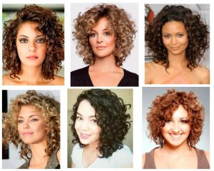 cabello-chino-corto-en-capas para mujeres