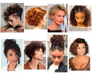 peinados-para-cabello-rizado-corto