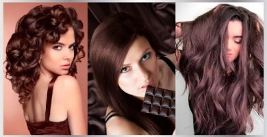 Pelo color chocolate
