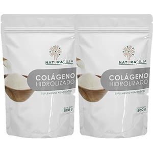 2 Paquetes de colágeno hidrolizado tipo II en polvo 500grs. °