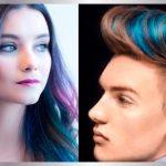 Como pintarse el cabello con papel crepé