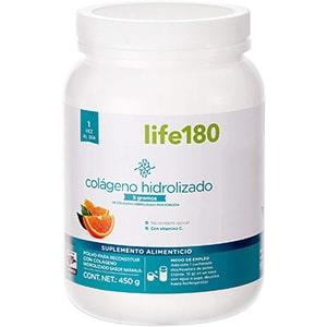 Colágeno hidrolizado en polvo, naranja 5 grs. 30 sobres °