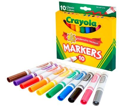 Marcador-crayola- para-pintar pelo