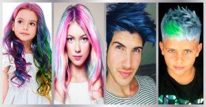 como pintar el cabello sin tinte