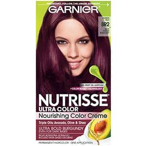 Tinte borgoña intenso Garnier Nutrisse BR2 °