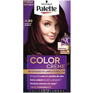 Tinte para cabello borgoña intenso Palette 4-89 °