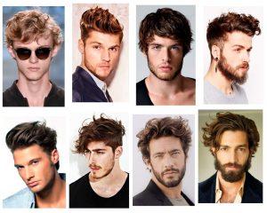 cabello ondulado hombre
