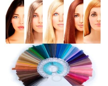 Colorimetría-cabello