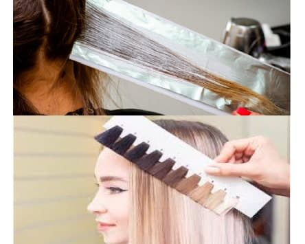 Decoloración de cabello