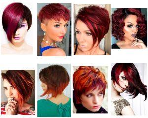 balayage-rojo-cabello-corto