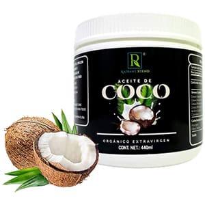 Aceite de coco orgánico extra virgen 100% natural Radiant Xtend 440ml