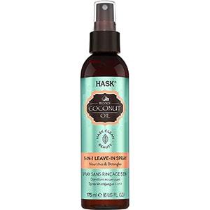 Aceite de coco para cabello en spray Hask 175 ml °